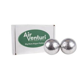 AIR VENTURI .358 Cal 67Gr 100ct Round Ball Air Gun Pellets (AV357/67GR/RB)