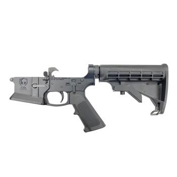KE ARMS KE-15 Billet Flared Magwell Complete AR15 Lower Receiver (KE-1-50-01-075)