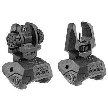 FAB DEFENSE Poly Flip-Up Front And Rear Sight Set (FX-FRBSKIT)