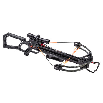 WICKED RIDGE Blackhawk 360 Peak Camo Crossbow Package with Multi-Line Scope and Rope Cocker (WR21020-9535)