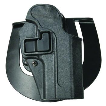 BLACKHAWK Serpa Sportster For Glock 17/22/31 Left Hand Carbon Fiber Gray Belt Holster (413500BK-L)