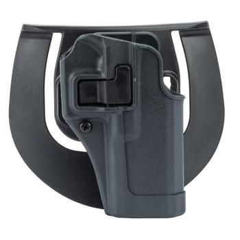 BLACKHAWK Serpa Sportster Level 2 Size 04 Right Hand Gunmetal Holster (413504BK-R)