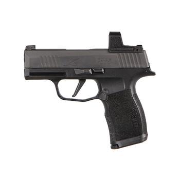 SIG SAUER P365X RomeoZero 9mm Luger 3.1in 2x12+1rd Black Pistol (365X-9-BXR3-RXZ)