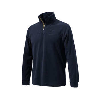 BERETTA Half Zip Fleece Navy Pullover (P3311T14340539)