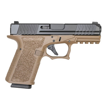 POLYMER80 PFC9 Compact 9mm Luger 4.02in 15rd Flat Dark Earth/Black Pistol (PFC9CMPFDE)