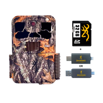 BROWNING TRAIL CAMERAS Spec Ops Elite HP4 Trail Camera With 32 GB SD Card And SD Card Reader For iOS (BTC-8E-HP4+32GSB+CR-UNI)