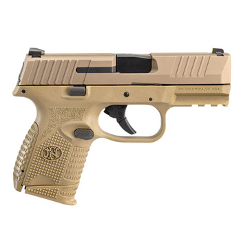FN 509 Compact 9mm Luger 3.7in 12rd/15rd Flat Dark Earth Pistol (66-100818)