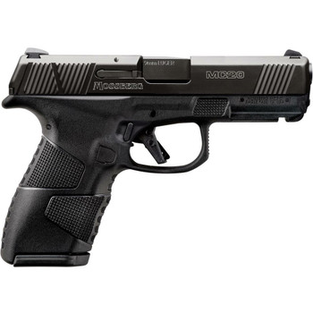 MOSSBERG MC2c 9mm Luger 3.9in 13rd/15rd Cross-Bolt Safety Semi-Auto Pistol (89014)