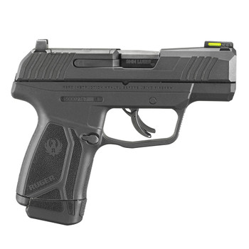 RUGER Max-9 Pro Optic Ready 9mm Luger 3.2in 12rd Black Oxide Pistol (3503)