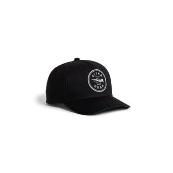 SITKA Shield Mid Pro Snapback Sitka Black OSFA Cap (20262-BK-OSFA)
