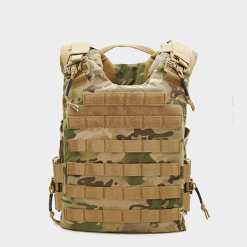 ACE LINK ARMOR QuadRelease Camouflage Plate Carrier (QRD-CM-ML-L)