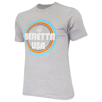 BERETTA Retro Busa Heather Grey T-Shirt (TS731T1890090U)
