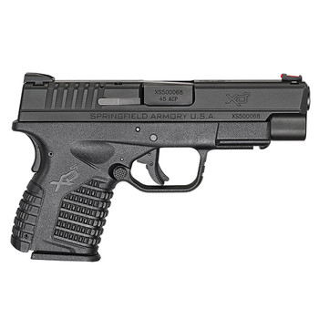 SPRINGFIELD ARMORY XD-S 45 ACP 4in 5rd/6rd Single Stack Black Pistol (XDS94045B)