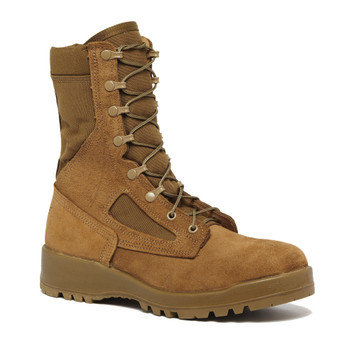 BELLEVILLE Hot Weather Steel Toe Mojave/Olive Green Coyote Combat Boot (551ST)