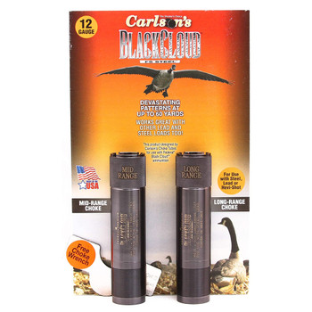 CARLSONS Black Cloud Mossberg 835/935 12Ga MR & LR Choke Tubes, 2 Pack (09108)