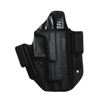 LAG TACTICAL Defend 1911 5in with Rail Black Right Hand IWB/OWB Holster (6004)