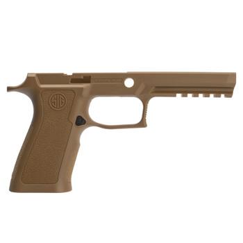SIG SAUER X-Series Full Size 9/40/357 Medium Coyote Tan Grip Module for P320 (GRIP-MODX-F-943-M-COY)