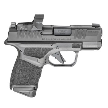 SPRINGFIELD ARMORY Hellcat OSP 9mm 3in 11rd/13rd Black Micro-Compact Pistol with HEX Wasp Sight (HC9319BOSPWASP)
