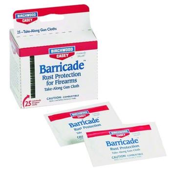 BIRCHWOOD CASEY Barricade Take Along Wipes (33025)