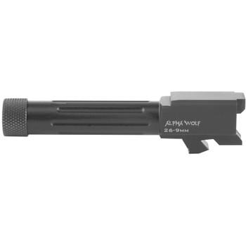 LONE WOLF AlphaWolf 9mm Threaded 1/2x28 Barrel For M/26 (AW-26TH)