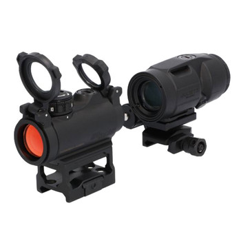 SIG SAUER ROMEO-MSR 2 MOA Red Dot Sight and JULIET3-MICRO Magnifier Combo Kit (SORJ72001)