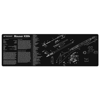 TEKMAT Mauser K98k Black 12x36in Cleaning Mat (36MAUSER)