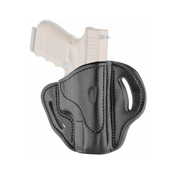 1791 GUNLEATHER BH2.1 Black Right Hand Multi-Fit OWB Holster (BH2.1-BLK-R)