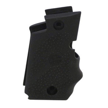 HOGUE Sig P238 Black Rubber Wraparound Grip with Finger Grooves (38080)