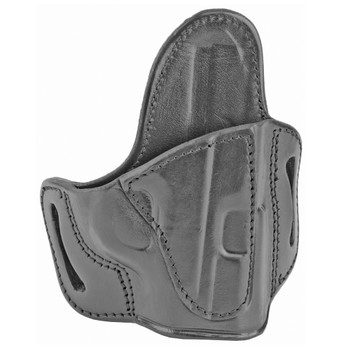 TAGUA GUN LEATHER Texas-Fort RH Black Holster for S&W M&P Shield/Springfield XDs (TX-EP-BH2-1010)
