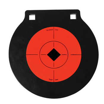 BIRCHWOOD CASEY World of Targets 6in Double Hole AR500 Gong Target (47608)