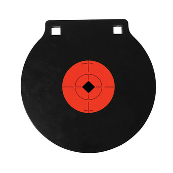 BIRCHWOOD CASEY World of Targets 10in Double Hole AR500 Gong Target (47615)
