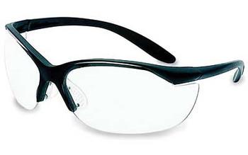 HOWARD LEIGHT Vapor II Black Frame/Clear Lens Glasses (1535)