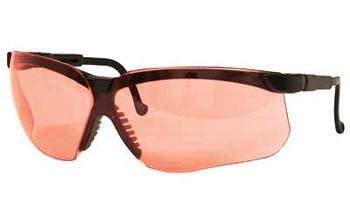 HOWARD LEIGHT Genesis Glasses Black Frame Vermilion (3575)