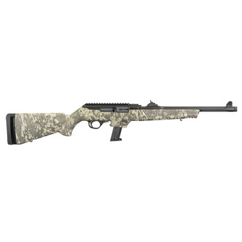 RUGER PC Carbine 9mm Luger 16.12in 17rd Green Digital Camo Stock Semi-Auto Rifle (19107)