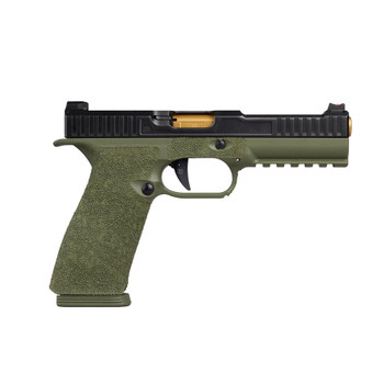SALIENT ARMS Sai Strike One Tier One 9mm OD Green Frame with TiN Barrel Semi-Automatic Pistol (SAI-AS1-9-T1-G-GRN)