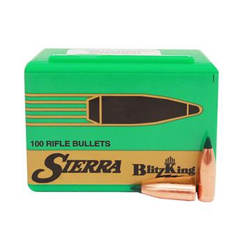 SIERRA BlitzKing 22 Caliber 55Gr SBT 100/Box Rifle Bullets (1455)