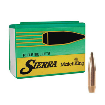 SIERRA MatchKing 30 Caliber/7.62mm 168Gr HP 100/Box Rifle Bullets (2200)