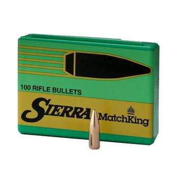 SIERRA MatchKing 30 Caliber/7.62mm 175Gr HPBT 100/Box Rifle Bullets (2275)