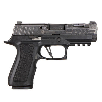 SIG SAUER P320 XCompact Spectre 9mm 3.9in 15rd Custom Works Pistol (P320V001)