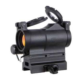 SIG SAUER ROMEO7S 1x22mm Compact Red Dot Sight with 2 MOA Green Dot Reticle (SOR75002)