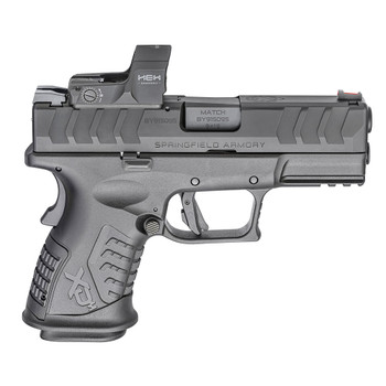 SPRINGFIELD ARMORY XD-M Elite Compact 9mm 3.8in 14rd OSP Pistol with HEX Dragonfly (XDME9389CBHCOSPD)