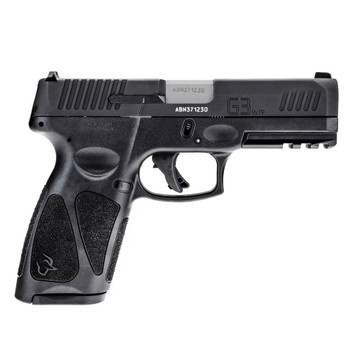 TAURUS G3 Full Size 9mm Luger 4in 2x 10rd Mags Matte Black Pistol (1-G3B941-10)