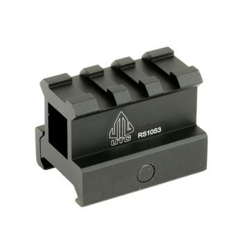 UTG 3-Slot Picatinny Compact Riser Mount (MNT-RS10S3)