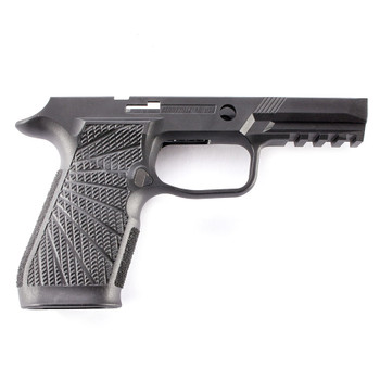 WILSON COMBAT Carry No Manual Safety Black Grip Module for Sig Sauer P320 (320-CSB)