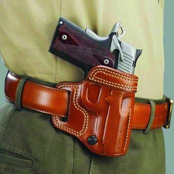 GALCO Avenger Right Hand Leather Belt Holster for Glock 19,23,32 (AV226)