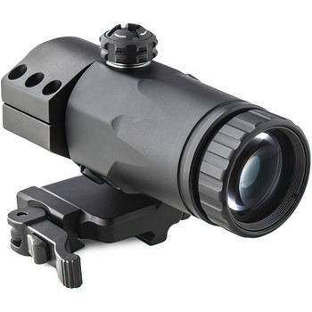 MAKO/MEPROLIGHT 3X Magnifier for Reflex and Red Dot Sights With a Built-in Flip Mount (Mepro MX3 Flip)