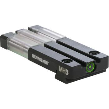 MAKO/MEPROLIGHT Fiber-Tritium Bull's-Eye Green Rear Sight For Sig Sauer P226 (ML63115)