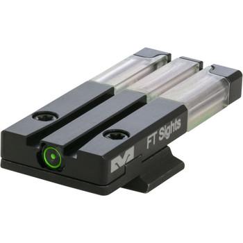 MAKO/MEPROLIGHT Fiber-Tritium Bull's-Eye Green Rear Sight For S&W M&P (ML63120)