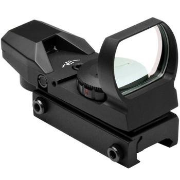 NCSTAR 1x24-34 Dual Illumination Multi Reticle Reflex Sight (D4RGB)
