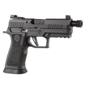 SIG SAUER P320 XCarry Legion 9mm 4.6in Threaded Barrel 3x 17rd Mags Legion Gray Pistol (320XCA-9-LEGION-TB-R2)